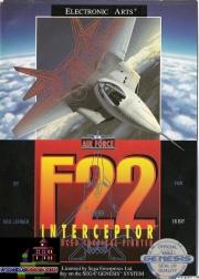 картридж (кассета) на SEGA (сега) F22 interceptor