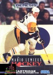 картридж (кассета) на SEGA (сега) Mario Lemieux Hockey  (Хоккей)