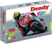 Игровая приставка Dendy Kids 195 встр.игр