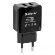 сетевой адаптер defender upa-12 2 USB   5V 2A ( 6 мес гарантии)