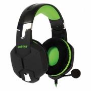 Гарнитура Smartbuy SBHG-2100 RUSH VIPER, черная/зеленая
