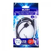 кабель BLAST BMC-415, для USB 3.1 Type-C, черный