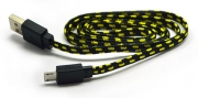 кабель micro в оплетке