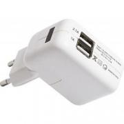 зарядное устройство сетевое BLAST BHA-231 , 2 USB , белый