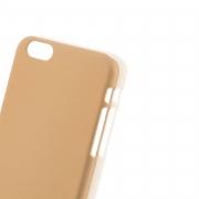 чехол софт тач iPhone 6 4D (золотой)