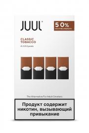 картриджи JUUL  Virginia tobacco