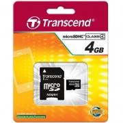 карта памяти  micro sd карта  transcend 4 gb