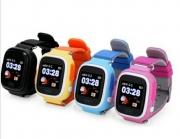 умные детские часы  Q90  ( смарт часы, smart watch Q90 ) с треком, GPS