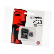 Micro sd карта 8 gb Kingmax class 10 + адаптер