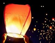 Небесный фонарик желаний(Китайский) 100см