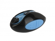 Универсальный фотопульт PERFEO S5 Shutter, bluetooth, чёрный/синий.