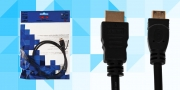 Кабель OXION HDMI(m)-mini(m)-Enternet ver 1.4b  1.8 m