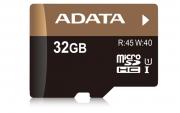 карта памяти microsd 32gb A-DATA Class 10 Premier UHS-I  без адаптера