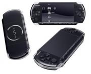 Игровая приставка  Sony PSP (Сони ПСП) чёрная