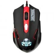 Мышь проводная QUMO Dragon War Biohazard SE, игровая