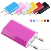 USB сетевой адаптер на 1 USB (цветная)
