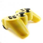джойстик для Sony PLAYSTATION 3 (сони плейстейшн 3) DUALSHOCK 3  желтый