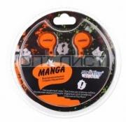 Наушники Smartbuy SBE-1040 Manga, оранжевые