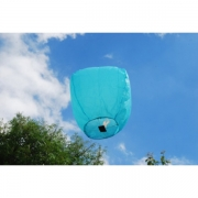 Небесный летающий фонарик (голубой)