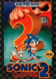 картридж (касcета) на SEGA (сега) Sonic The Hedgehog 2