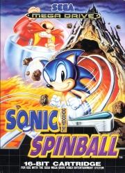 картридж (каcсета) на SEGA (сега) sonic spinball  (соник спинбал)
