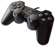 джойстик для Sony PLAYSTATION 2 (сони плейстейшн 2)  Dualshock 2 черный (оригинал)