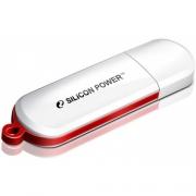 Флеш-накопитель USB 16 gb Silicon Power LuxMini 320 белый