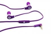 Наушники Monster Beats(копия) Tour ControlTalk (в кор) Purple(фиолетовый) с контроллером