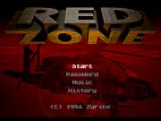 картридж (кассета) на SEGA (сега)  Red Zone (Вертолеты)