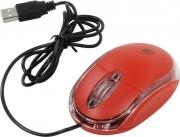 Мышь DEFENDER MS-900, красный, USB, проводная.