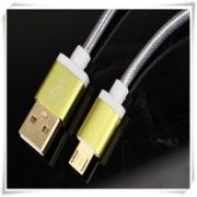кабель iPhone 5 (айфон 5) Earldom в металлической оплетке