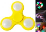 Spinner ( Спиннер ) антистресс Led (с подсветкой из светодиодов) желтый