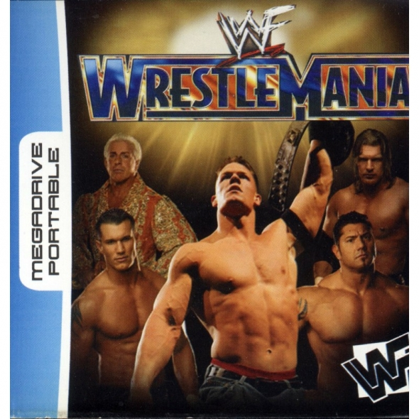 картридж ( кассета )  для MD Portable ( megadrive portable ) Wrestle Mania
