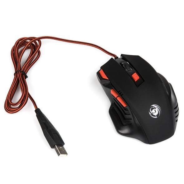 Мышь DIALOG Gan-Kata MGK-30U, черная